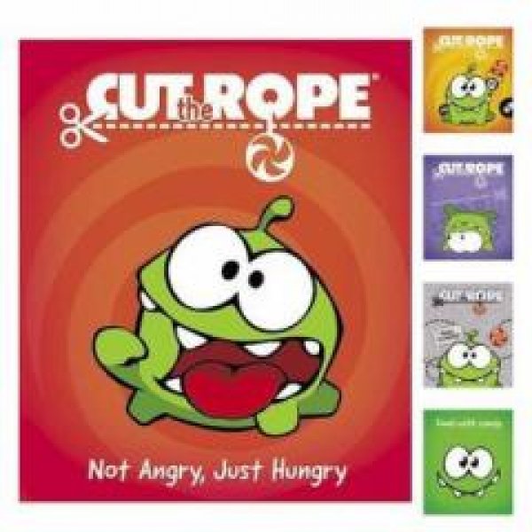 Тетрадь 18 л кл. 18Т5В1 CUT THE ROPE 5 видов (20/200)